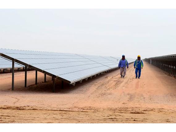 The region's 'first industrial scale' green hydrogen plant in Dubai