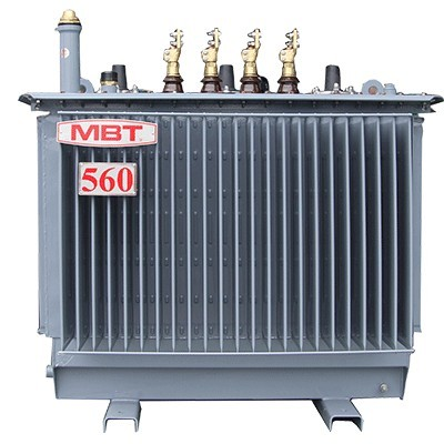 Sealed type 3-phase oil immersed distribution transformer 560KVA